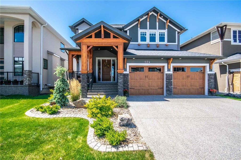 Custom 2 Storey Walkout on the Pond in Chestermere