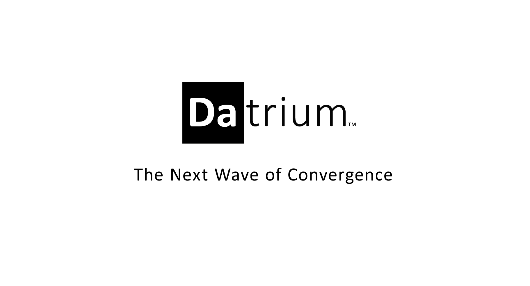 Datrium in 2 Minutes: The Next Wave of Convergence