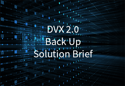 Backup/Recovery Solution Brief
