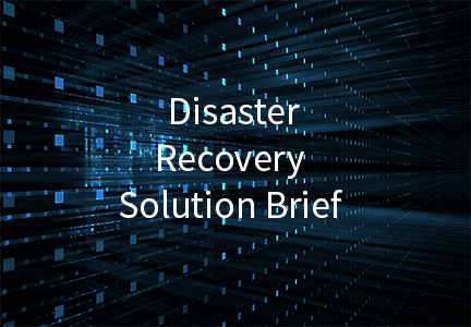Disaster Recovery Solution Brief
