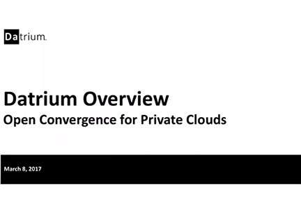 Open Convergence for Private Clouds