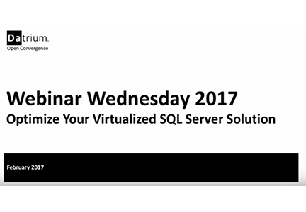 Optimize Your Virtualized SQL Server Solutions