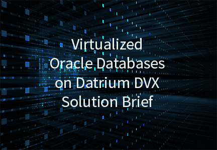 Virtualized Oracle Databases on Datrium DVX Solution Brief
