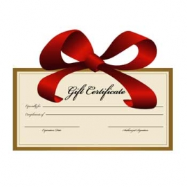 $255 Gift Certificate