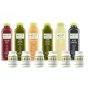 Dherbs + Puregreen 3-Day Juice Cleanse