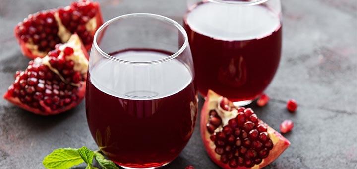 Ricki Heller's Cranberry, Pomegranate, & Kale Detox Juice