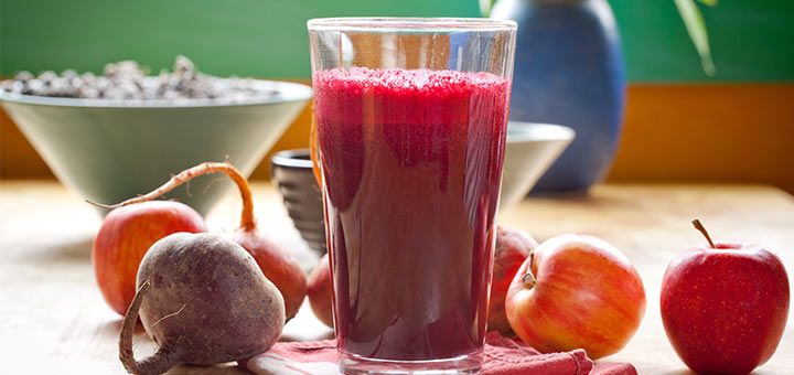 """Rhapsody In Red"" Midday Cleansing Juice"