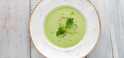 Pineapple Cucumber Gazpacho
