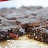 raw-brownies-strawberries