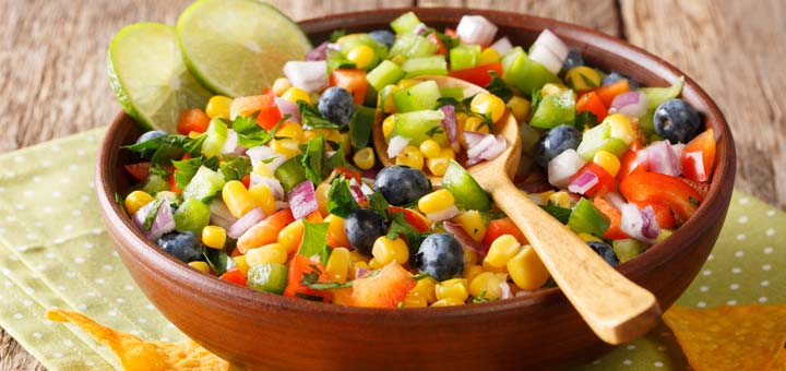 Vegan Zesty Lime Corn Salad