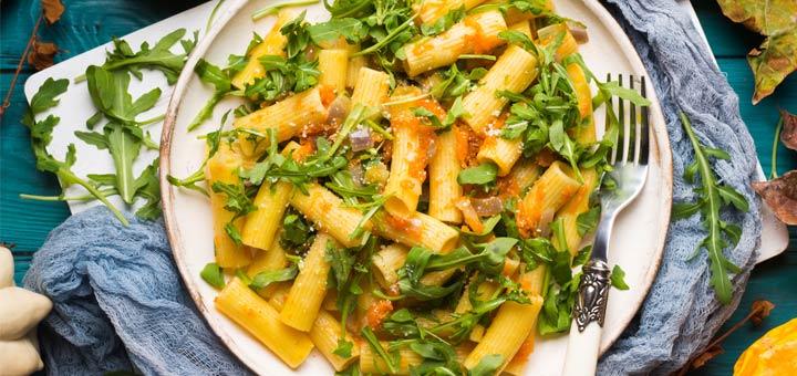 butternut-arugula-pasta