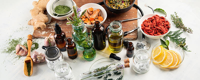 herbal-remedies-on-table