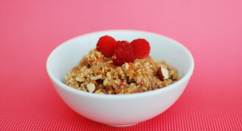 Super-Filling Coconut Almond Quinoa