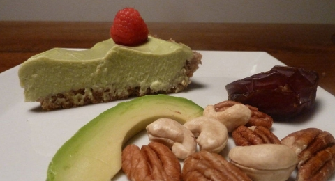 Raw-Vocado Key Lime Pie Vegan