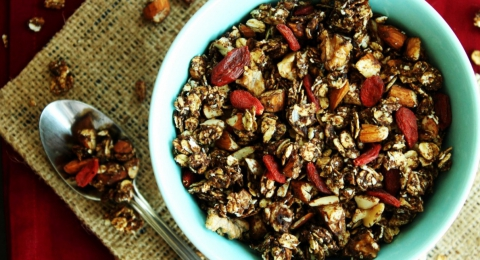 Eat Chocolate for Breakfast! Try This Yummy Chocolate Granola