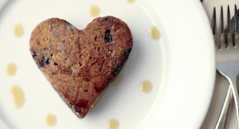 Valentine's Day Vegan Pancake Cookies