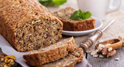 Gluten-Free Banana and Macadamia Bread