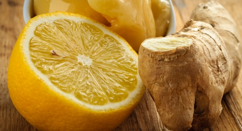 Lemon-Ginger Hand Scrub For Dry Winter Skin