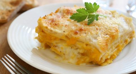 Rich Vegan Butternut Squash & Sage Lasagna