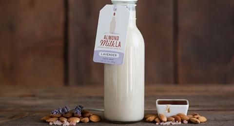 Lavender Almond Milk