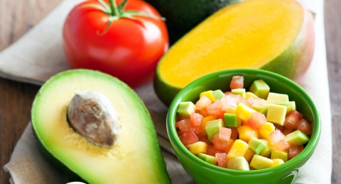 Fully Raw Mango Avocado Salsa Recipe
