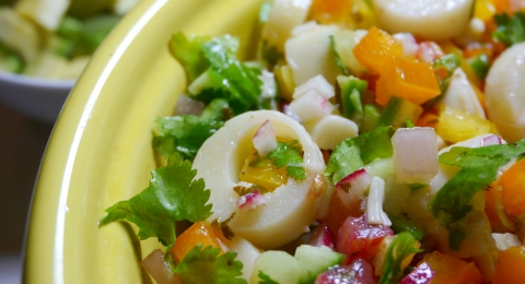 Veggie Ceviche with Dill