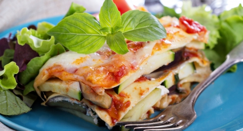 The Best 9 Vegetable Lasagna Ever!