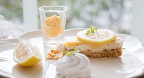 Lemon Cashew Tarts