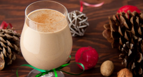 Dairy-Free Cinnamon Eggnog Recipe