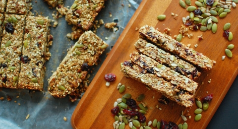 Cranberry Protein Bars