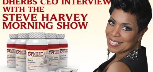 Steve Harvey Morning Show interviews Dherbs CEO