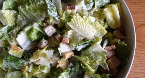 Creamy Vegan Caesar Salad