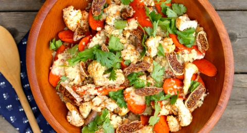 Moroccan Spiced Cauliflower & Carrot Salad