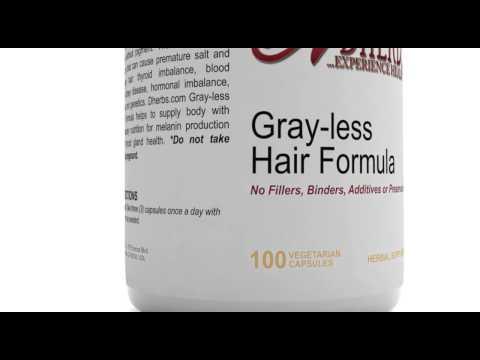 Dherbs Gray Less Hair Formula