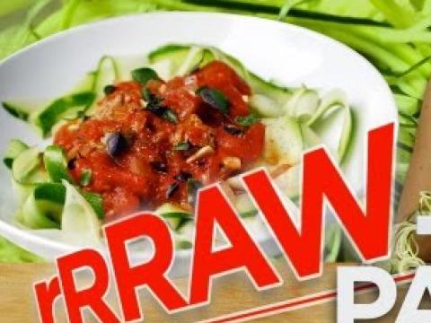 Raw Pasta Recipe with Raw Pasta Sauce