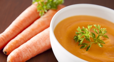 Curried Carrot and Parsnip Soup