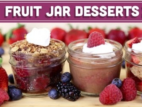 Vegan Desserts in a Jar