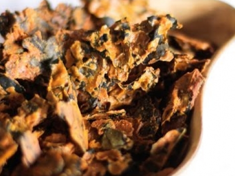 "Kale Chips Recipe ""The Best Tasting Kale Chip Raw Food Recipe"""