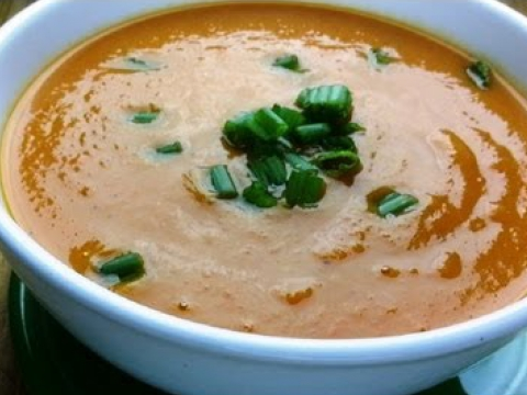 Sweet Potato Carrot Soup Recipe
