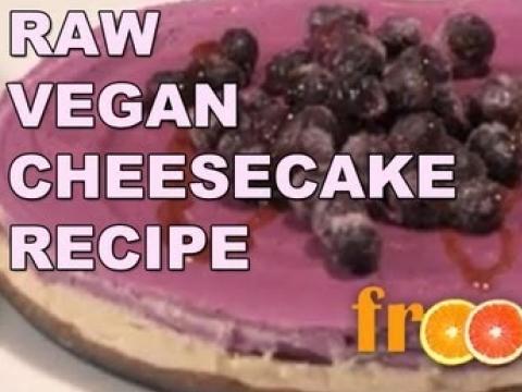 Raw Vegan Cheesecake Recipe