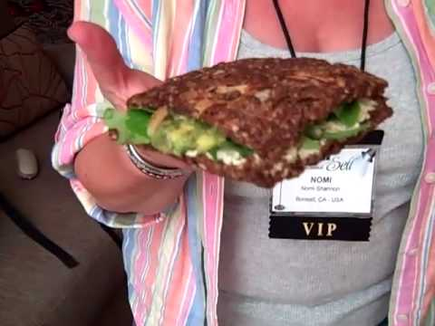 Gluten Free Diet Sandwich for Healthy Travel Meal