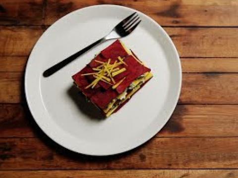 Beet Lasagna