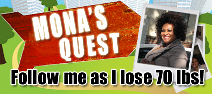 Mona's Quest to lose 70 pounds