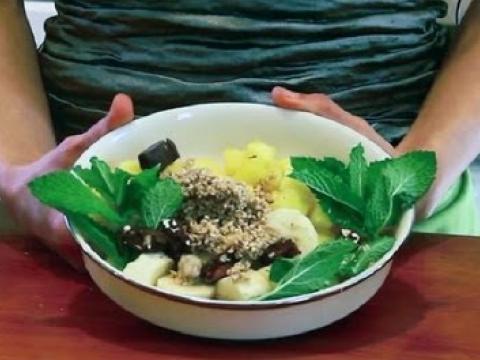 A Vegan Raw Coconut Oil Dessert