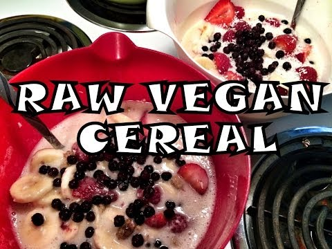 What I Ate For Breakfast on a Raw Vegan Diet