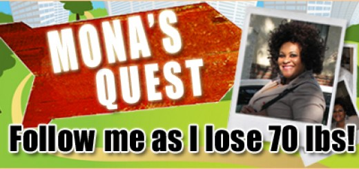 Mona's Quest to lose 70 pounds – Day 1