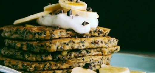 Coconut, Almond + Quinoa Breakfast Cakes
