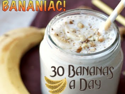 The ULTIMATE Banana and Date Smoothie