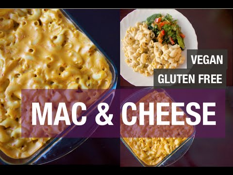 VEGAN MAC AND CHEESE RECIPE | GLUTEN FREE RECIPE | CLEAN EATING