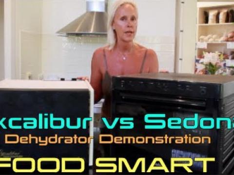Excalibur Dehydrator vs Sedona Dehydrator Demonstration